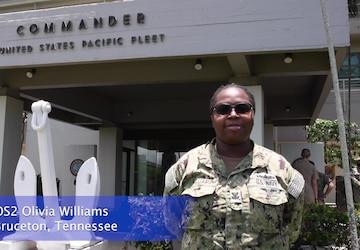 Commander, U.S. Pacific Fleet Hometown Shoutouts