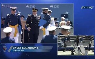 USAFA Class of 2021 Graduation, Part 2