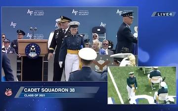 USAFA Class of 2021 Graduation, Part 3
