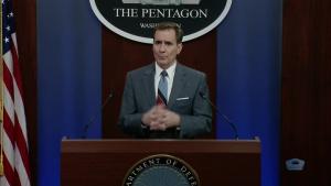 Pentagon Press Secretary Holds News Conference