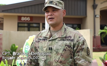 25th Infantry Division Sustainment Brigade Celebrates Asian American and Pacific Islander Month: Cpt. Brandon Demapan