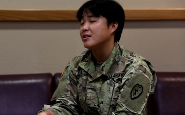 25th Infantry Division Sustainment Brigade Celebrates Asian American and Pacific Islander Month: 2LT Beiling Liu