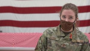 Women of Team Hill: 2nd Lt. Mary Pepper