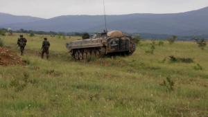U.S., Bulgarian soldiers prepare for LFX in Bulgaria