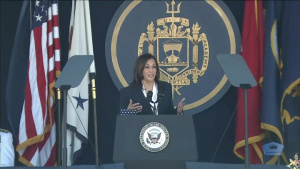 Vice President Harris Delivers Naval Academy's 2021 Commencement Address