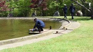 Memorial Day observance at Otis Memorial Park