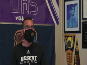 Desert Junior-Senior High School teacher wins Teacher of the Year Award