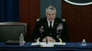 Top Army Official Holds Briefing on FY22 Defense Budget