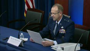 Top Air Force Officials Hold Briefing on FY22 Defense Budget