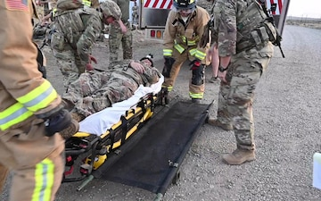 B-roll: U.S. and French forces coordinate in mass casualty exercise