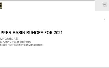 Missouri River Basin Water Management - Call - 6/3/2021
