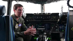 Joint Base Charleston C-17 air show pilot training