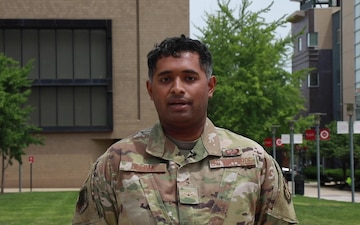 Airman Soorya Deepak gives a Father's Day Shout-out