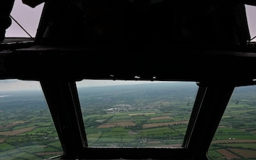 D-Day Normandy fly over
