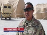 'Desert Medics' conduct Operation Eagle's Landing
