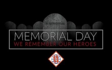 2d TSB Commander's Message - Memorial Day