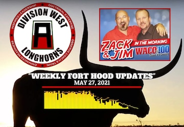 Fort Hood updates from DIV WEST CG radio interview by WACO 100
