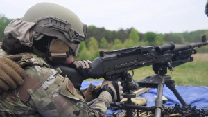 512th SFS Heavy Weapons Training