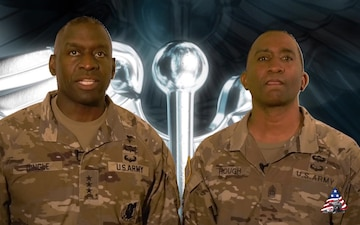 Army Medical Command leadership COVID vaccine message