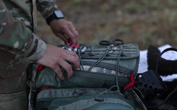 64th Medical Detachment K9TCCC familiarization in Greece