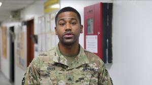 Sgt. Jerrod Green's Army Birthday Shoutout