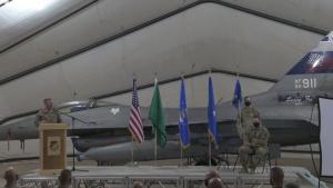 378 AEW Change of Command