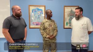 CSM Toussaint highlights Nashville District Hydropower Training Program