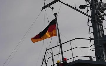 B-Roll aboard FGS Helmsand - NIWC Pacific