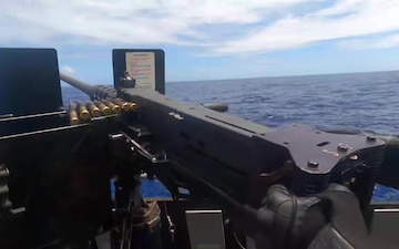 USS Shiloh CG 67 Live Fire Gunnery Exercise
