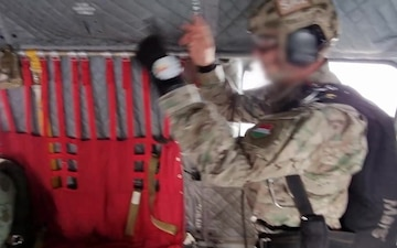 Hungarian special operations forces jump from Big Windy during Saber Guardian 21