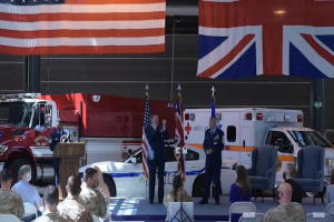 Chief Master Sergeant Dan Keene Retirement Ceremony