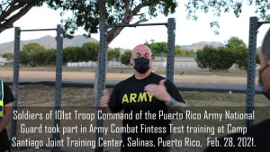 Soldiers Train for the ACFT