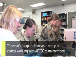 Inside AFIMSC: USAFA Cadet Summer Research Program