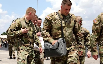 Florida Army National Guard Soldiers Depart for Exercise Tradewinds 2021 in Guyana