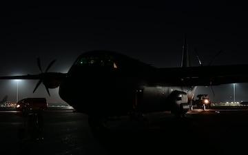 40th EAS prepare C-130 for tactical airlift in Kuwait & Saudi Arabia