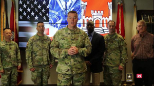A USACE Birthday greeting from SWD Commander Brig. Gen. Beck