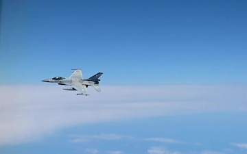 Training Sortie Bomber Task Force Europe with Greece