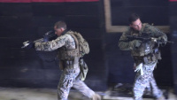 Force Recon Conducts Room Clearing Drills