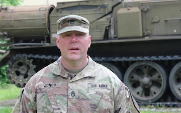 Staff Sgt. Adam Jones Father's Day shoutout