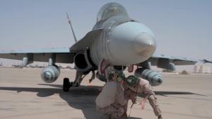 USCENTCOM Hosts USMC F/A-18s for Dynamic Force Employment