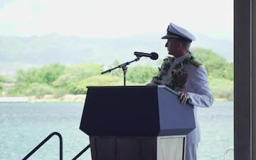 Navy Region Hawaii Change of Command