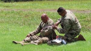 Hawaii Army National Guard MEDEVAC Units Conduct Hoist Training