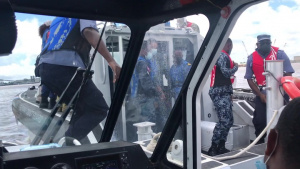 Maritime Pinching and Boarding Training at Tradewinds 2021