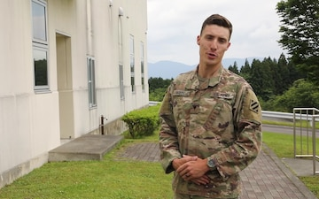 3rd Infantry Division Soldier shout-out to the Tennessee Volunteers