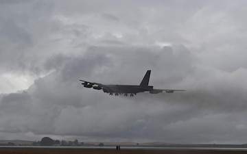 B52's return to Barksdale from BTF 21-3