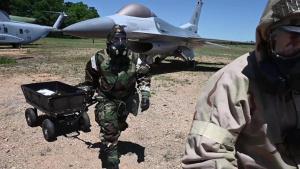 National Guard HAZMAT Training at PATRIOT 21