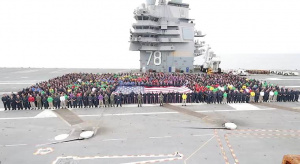 July 4th Shout-out USS Gerald R Ford