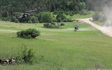 ABL Patrol Training During JMRC Rotation