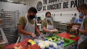 Arizona National Guard supports Phoenix food bank