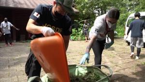 Zama Yatoyama Park Cleanup